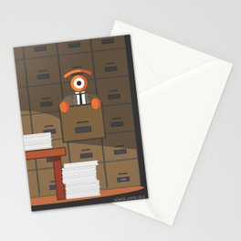 lost in kafka's process Stationery Cards
