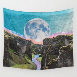 Moon of the Valley Wall Tapestry