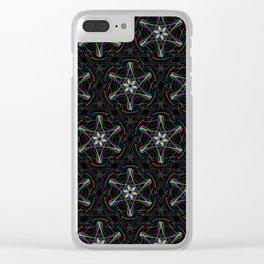 Pattern Christina Clear iPhone Case