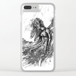 Ghost Series #5 Clear iPhone Case