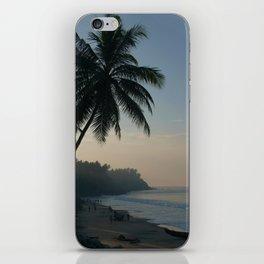 Palm Trees and Varkala Beach iPhone Skin