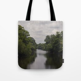 Slow Jungle River Down South Tote Bag