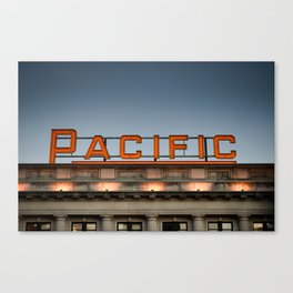 Pacific Canvas Print