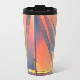 Sienna Sails at Sunset Travel Mug