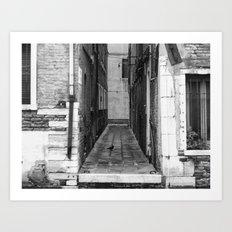 untitled __ venice Art Print