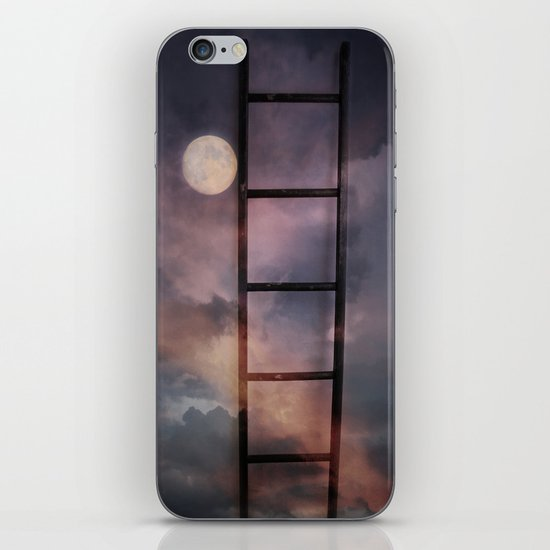 Beyond the Moon and back iPhone & iPod Skin