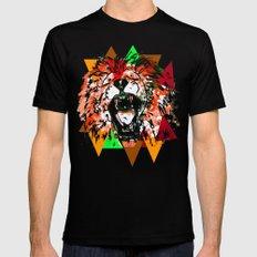 Panthera Leo MEDIUM Mens Fitted Tee Black