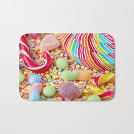 Rainbow Candy Bath Mat