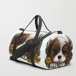 Puppy Duffle Bag