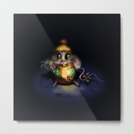 Kissiemouse Metal Print