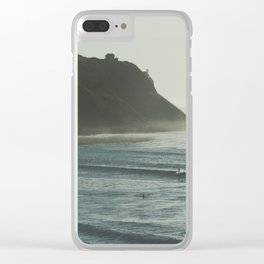 California Daydreams. Clear iPhone Case