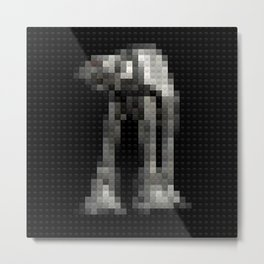 Toy Building Bricks Imperial Walker Metal Print