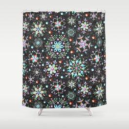 Snowflake Filigree Shower Curtain