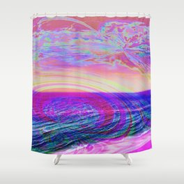 Have a nice trip! Shower Curtain