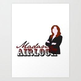 Madame Airlock Art Print