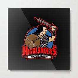 Glenfinnan Highlanders Metal Print