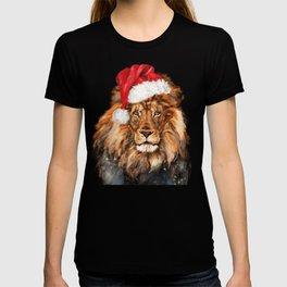 Christmas King Lion T-shirt