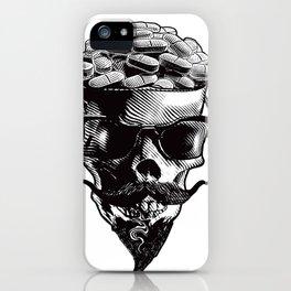 Skull and Prescription Pills iPhone Case