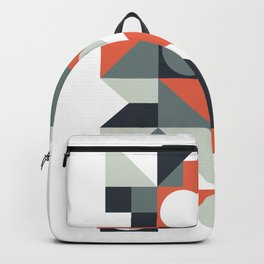 Mid Century Geometric 04 Backpack