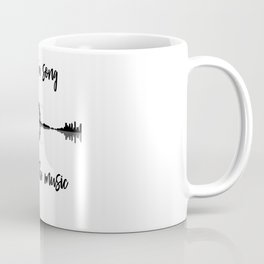 Life Is A Song Nature Guitar Forest Music Lyrics Coffee Mug