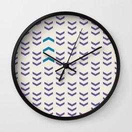 Break the pattern   light Wall Clock