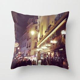 Saint Germain Paris Throw Pillow