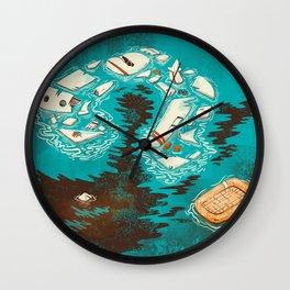 Malaysian Mystery Wall Clock