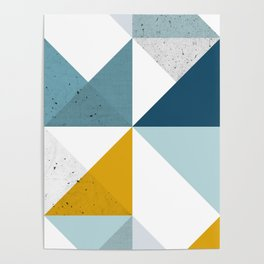 Modern Geometric 18 Poster