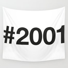 2001 Wall Tapestry