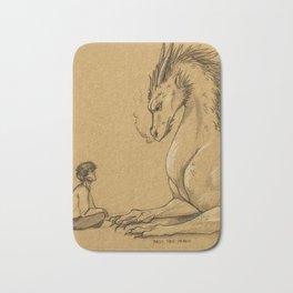 Strength of a Dragon Bath Mat