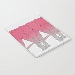 Pink elephant Notebook