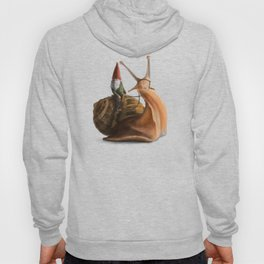 Gnome on Snail Hoody