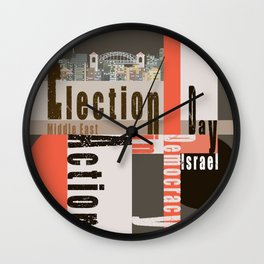 Election Day 8 Wall Clock