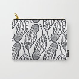 hand drawing Banana Leaf pattern Carry-All Pouch