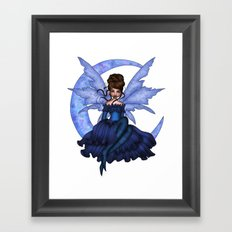 Faery Moon Framed Art Print