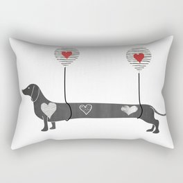 Dachshund Rectangular Pillow
