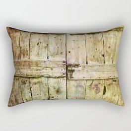 460 Old Barn Door Rectangular Pillow