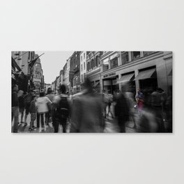 Saxophone Man Canvas Print