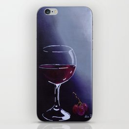 Wine-Ding Down iPhone Skin