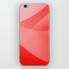 Red Wallpaper iPhone Skin