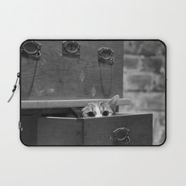 Cat in the closet Laptop Sleeve