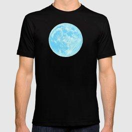 Moon Portrait 4, Blue Moon T-shirt