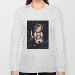 Astrocat Illustration Long Sleeve T-shirt