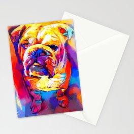Bulldog 4 Stationery Cards