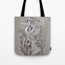 Ascent from the Lotus Forest Tote Bag