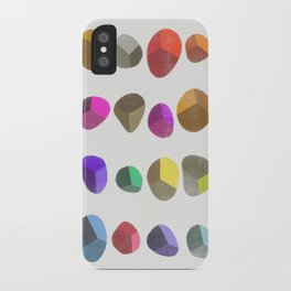 Painted Pebbles 2 iPhone Case