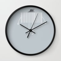 code Wall Clocks featuring Mr. Code by Frank Avelino
