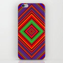 Multicolored Line Burst Pattern SB1 iPhone Skin