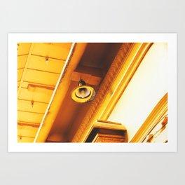 Yellow Lamp Art Print