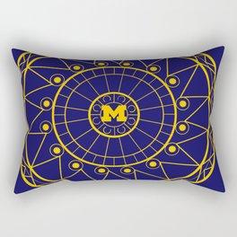 Michigan Mandala Rectangular Pillow